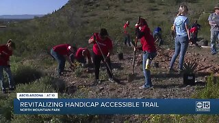 Handicapped trail on North Mountain revitalized