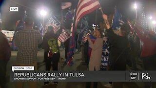DECISION 2020: Republicans rally in Tulsa