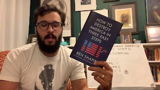 Rumble Book Club : How To Destroy America In Three Easy Steps by Ben Shapiro