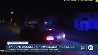 Ex-cons accused of impersonating police
