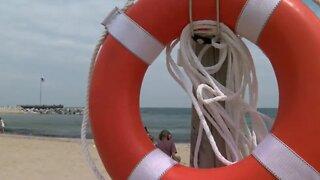 High Swim Risk at Lake Michigan Beaches