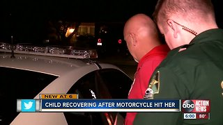 Motorcyclist arrested after hitting 2-year-old in Port Richey