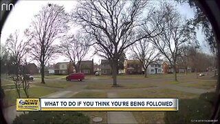 What to do if you think you're being followed