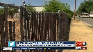 Sump impact on family's health