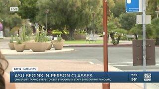 ASU begins in-person classes