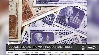 Federal judge strikes down Trump plan to slash food stamps