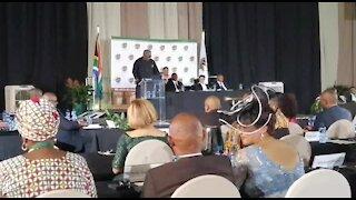 SOUTH AFRICA - Pretoria - State of the Province address - Video (ru4)