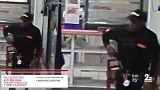 Caught on camera: Gunman in triple shooting