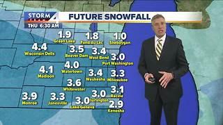 Winter Weather Advisory starts Wednesday morning
