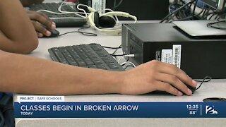 Classes in Broken Arrow, Back In Session