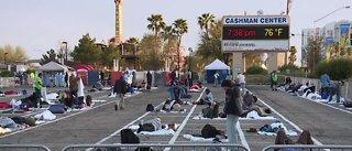 Temporary homeless shelter closing in Las Vegas