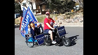 A Personal Trump Parade on Election Day
