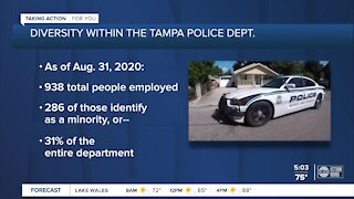 Tampa leaders looking to increase diversity of police department