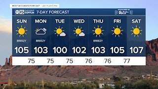 Hot weekend in the Valley!