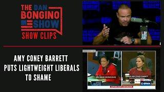 Amy Coney Barrett Puts Lightweight Liberals To Shame - Dan Bongino Show Clips