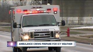 Ambulance crews prepare for next winter storm