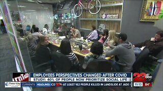 Employee job perspectives change after COVID-19