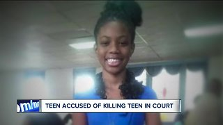 13-year-old charged with aggravated murder of 14-year-old Sylvia McGhee enters a 'not true' plea