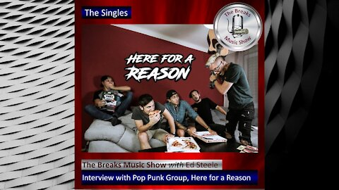 The Breaks Music Show – The Singles – Promo Interview with Here for a Reason