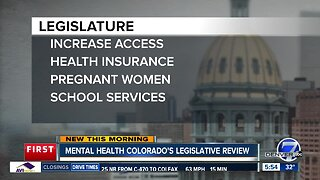 Mental Health Colorado's legislative review