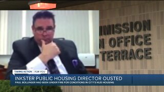 Inkster public housing director ousted