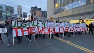 Minneapolis Protests after Chauvin Trial Closing Arguments