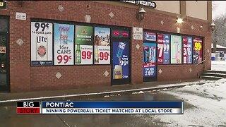 $70 million winning Powerball jackpot ticket sold in Pontiac