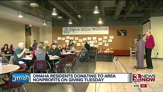 Omaha nonprofits celebrate Giving Tuesday