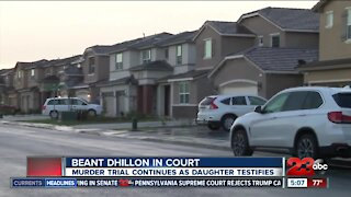 Daughter continues testimony in Beant Dhillon trial