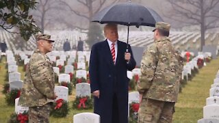Trump Honors The Fallen on Memorial Day