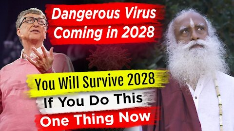 Humanity Will Be in Danger in 2028 Sadhguru Prediction    More Deadly Virus Will Come From 2028