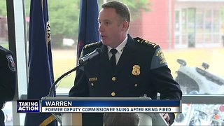Warren's former deputy commissioner suing after being fired