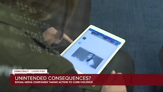 Social media companies taking action to curb violence