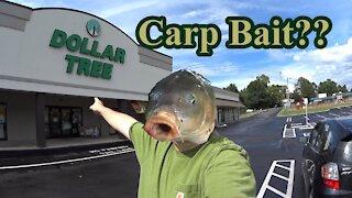 Dollar Tree BIG Carp Bait!!!