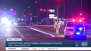 Suspect in custody after officer-involved shooting in Mesa