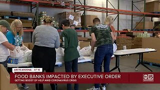 Food banks impacted by executive order