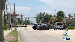 Police investigate shooting in West Palm Beach Sunday