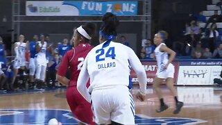 Cierra Dillard keeping the faith during professional basketball journey