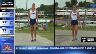 Olympic rowers hold final practice in Sarasota