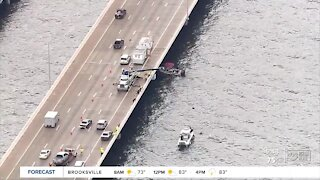 Howard Frankland Bridge barriers will soon be taller after dozens of crashes over the bridge