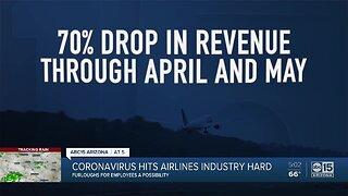 Coronavirus hits airline industry hard