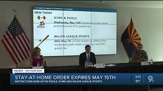 Governor Ducey: Stay-at-home order ends Friday night