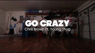 Chris Brown & Young Thug - Go Crazy | Choreographed by Tarek