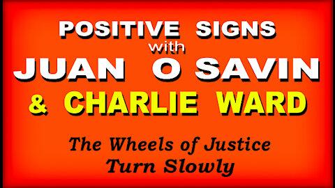 POSITIVE SIGNS - JUAN O SAVIN & CHARLIE WARD - 13 Min.