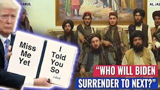 TRUMP: WHO WILL BIDEN SURRENDER TO NEXT?