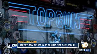 'Top Gun' sequel starts production in San Diego