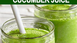 8 reasons why you should drink cucumber juice