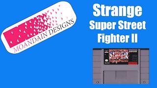 Strange Super Street Fighter II Story.