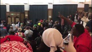 Nelson Mandela Bay council meeting collapses again (qfU)