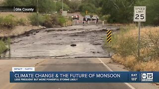 IMPACT EARTH: How climate change is impacting our monsoon